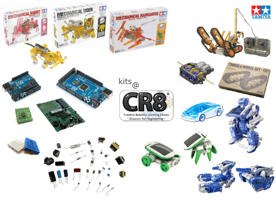 CR8(R) Kits Collage