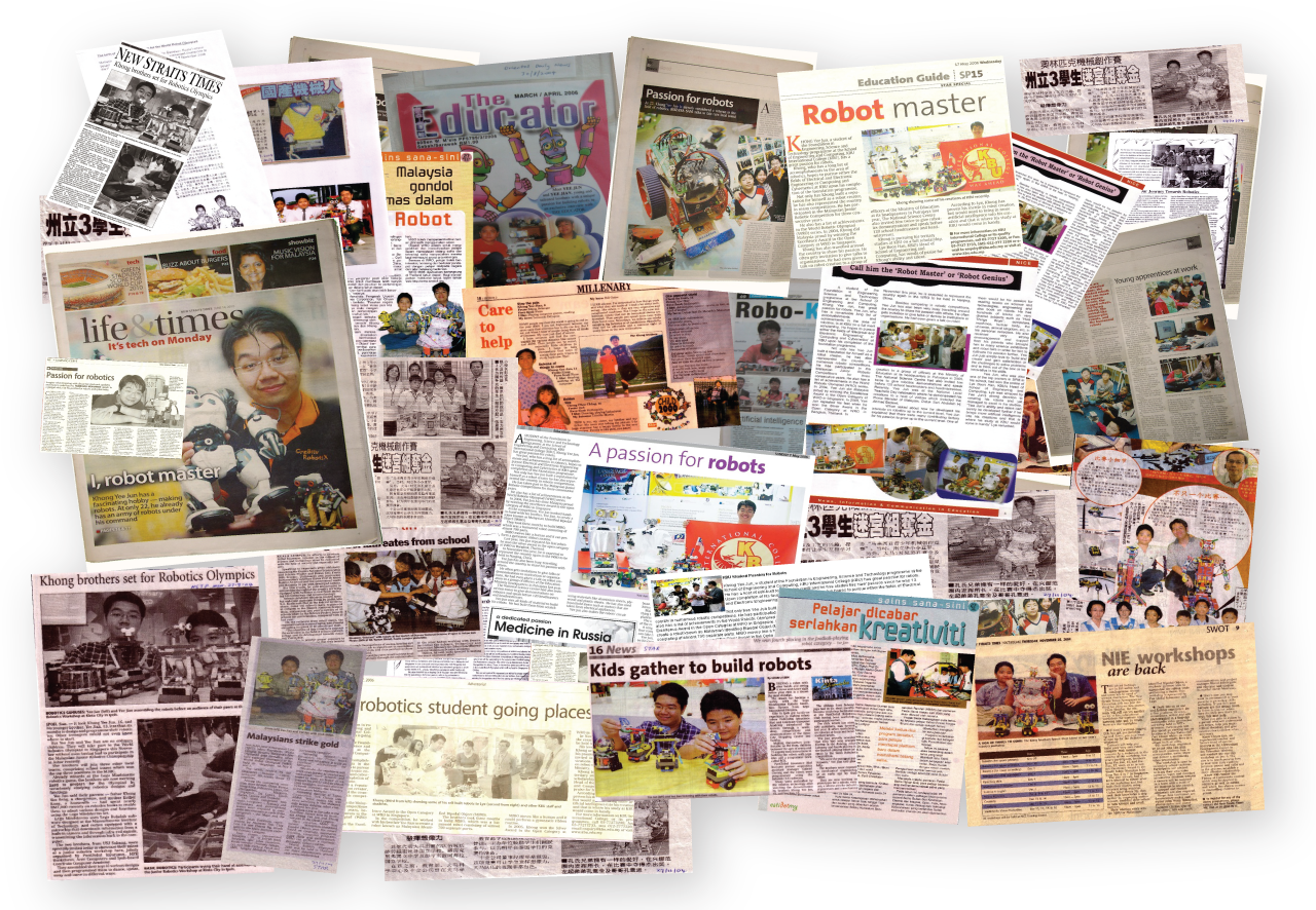 CR8®'s Khong Brothers Newspaper Article Collage