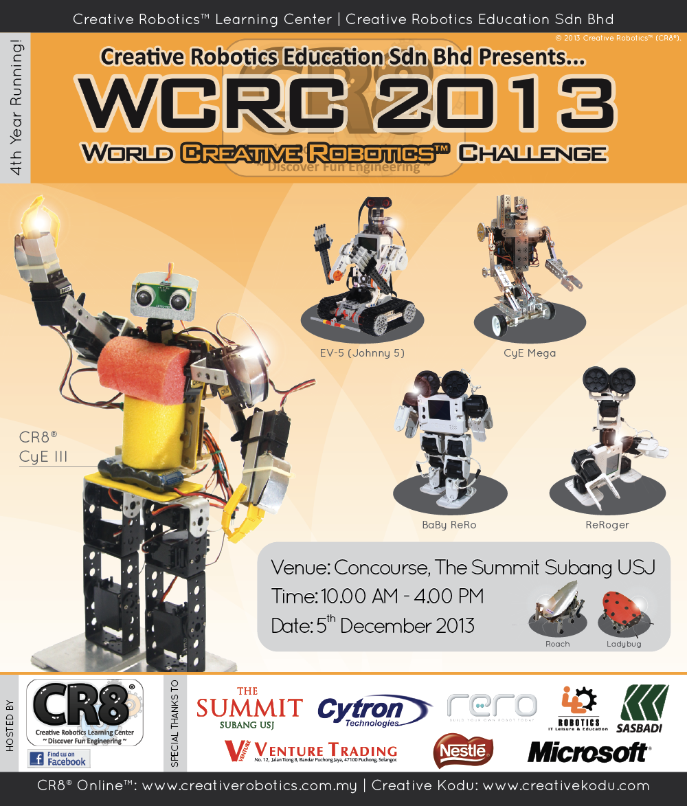 CR8® WCRC 2012 Logo